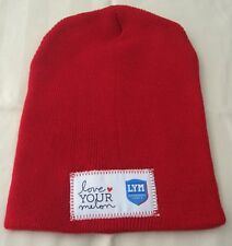 Rare Love Your Melon LYM SUPERHERO DAY Red Beanie One size