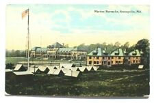 """Annapolis MD /""""Bird/'s Eye View From Cadets Quarter/"""" © 1896 reprint Vintage Photog"""