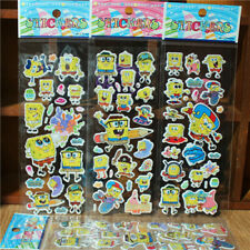 """figures 3D Foam Classic cartoon children """"SpongeBob""""Stickers Kids"""