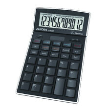 DT920P Aurora Calculator Desktop Multifunction 12 DIGIT 4 Key Memory