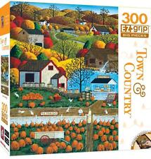 MASTERPIECES TOWN & COUNTRY PUZZLE AUTUMN MORNING ART POULIN 300 PCS #31676