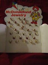 30 Vintage 1979 McDonaldland Rings McDonalds Memorabilia Jewelry Ronald Grimace