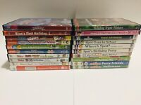 Kids/Family Dvd Movie Lot 20 Disney Junior PBS Kids Nick Jr Nick Sesame Street