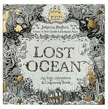 Lost Ocean An Inky Adventure And Coloring Book By Johanna Basford 2015 Paper