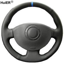 For Renault Megane 2 2003-2008 Kangoo Scenic 2 Hand Sewing Steering Wheel Cover