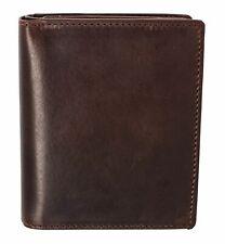 LEONHARD HEYDEN Roma Notecase Geldbörse Dark Brown Braun Neu
