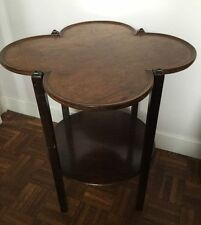 Solid Wood Vintage/Retro Side & End Tables with Shelves