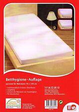 Betthygiene-Auflage Matratzenschoner 70x140 cm Kinderbett Spannbettlaken