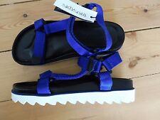 4 UK, Multicolor (Blue / Black), SixtySeven 77402, Women's Dress Shoes NEW