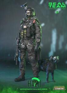 1//6 Scale Mini fois Action Figures Équipe Seal science fiction Halo-Parachute Pack