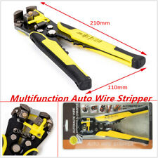 Professional Auto Car Wire Stripper Cutter Crimper Pliers Electric Tool AWG24-10