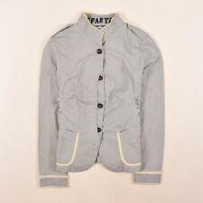 Desigual Damen Sakko Jacke Blazer Anzug Gr.44 Gestreift Mehrfarbig 85089