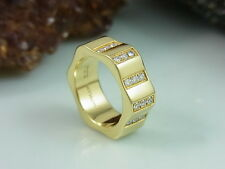 MONTBLANC 4810 BAGUE 36x BRILLANTEN RING 18K / 750 er GOLD | GR. 54 (17,2 mm Ø)