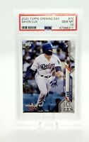 2020 Topps Opening Day Gavin Lux Rookie Card RC #70 PSA 10 Gem Mint Dodgers