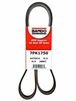 Serpentine Belt Bando 7PK1750 fits 2005 Acura TSX 2.4L-L4