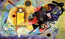 Wassily Kandinsky - Jaune, Rouge, Bleu Art Print Abstract Poster 30x24