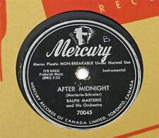 Ralph Marterie AFTER MIDNIGHT /  PRETEND Mercury 78 rpm 70045