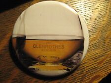 The Glenrothes Scotch Whisky Cocktail Glass Advertisement Pocket Lipstick Mirror