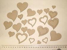 CHIPBOARD - HEARTS X 27PC - CRAFTY ORIGINALS