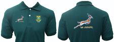 Polo Maillot de Rugby Afrique Du Sud