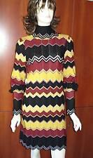 100% authentic  M Missoni Zigzag Dress top size 42/6