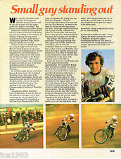 DAVE JESSUP MOTORCYCLE Racing Article / Photo's / Pictures