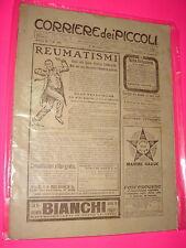 CORRIERE DEI PICCOLI anno 1910 n. 40 con sovracopertina pubblicitaria