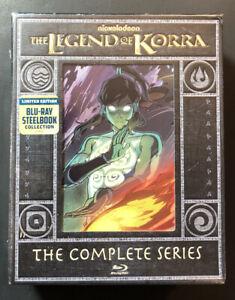 The Legend of Korra [ Limited Edition STEELBOOK Box Set ] (Blu-ray Disc) NEW