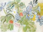 Poppies And Iris (Coquelicots Et Iris) by Raoul Dufy 32x24 Museum Art Print