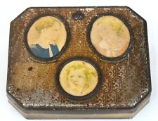 Rare Tin Box with Royal Children, Cote D'Or Chocolate with Belgian Royal Family