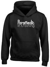 Paramedic in Training Childrens Kids Hooded Top Hoodie Boys Girls