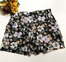 GAP Womens Floral Casual Summer Shorts Size 0 100% Cotton