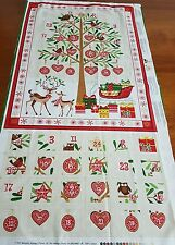 Christmas Advent Calender Tree and Deer Panel