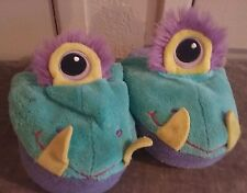 Slippers Size Small Kids Youth Childrens Stompeez Monster w/ Eyeball -Used-