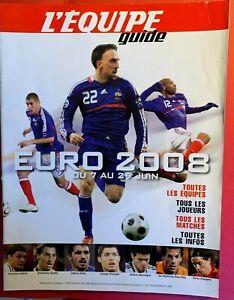FOOTBALL L'EQUIPE MAGAZINE GUIDE EURO 2008 COLLECTOR
