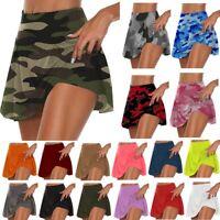 Women Loose Hot Shorts Short Pants Yoga Fitness Pants Skirts Bottoms Plus Size