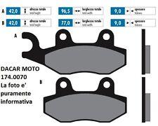 174.0070 PLAQUETTE DE FREIN ORIGINAL POLINI KYMCO VIVIO 125/150 AIR