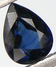 0.69CT. PEAR CUT 6.3x4.9 NATURAL BLUE SAPPHIRE AUSTRALIAN GEM