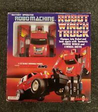 ROBO MACHINE BanDai Toyota Hilux 4x4 1985 in scatola come trasformatori GOBOTS