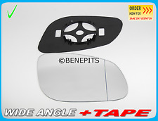 Wing Mirror Glass PORSCHE CAYENNE 2002-06 Wide Angle +BP +TAPE Right Side #PR003