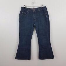 Silver jeans womens 33 x 31 33 x 28 dark wash pants Hemmed capris crop