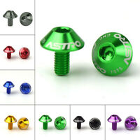 Bicycle Water Bottle Cage Holder Screw Bolts Durable Colorful Bike Accessory HC