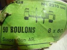 Axe de béquille diamètre 8mm ALGI cyclos motobécane Mobyx serrage avec clé de 13