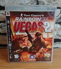 Tom Clancys Rainbow Six Vegas 2 playstation 3 PS3 game
