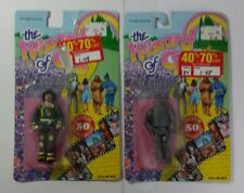 Lot of 2 1988 Wizard of Oz Action Figure 50th Anniversary Scarecrow & Tin Man