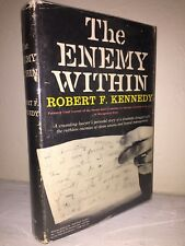 The Enemy Within by Robert F. Kennedy (SIGNED), First Edition, plus Bonus