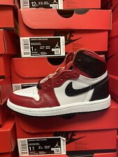 Jordan 1 Retro Satin Snake Chicago CU0449-601 TD & PS Size: 4C-3Y