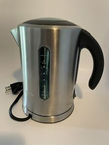 Breville BKE700 BSSUSC Electric Tea Kettle w/Base Brushed Stainless Steel 1500W