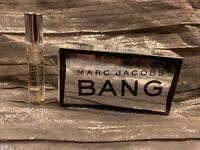 Marc Jacobs BANG FOR MEN- Travel Spray EAU DE TOILETTE 0.10 OZ. new!!