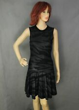 ALEXANDER McQUEEN Ladies Black Tiger Print DRESS - Size S - Small